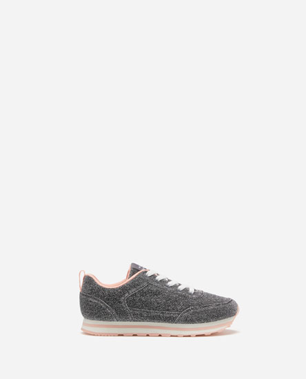 PG EVA SOLE SHIMMER SNEAKERS