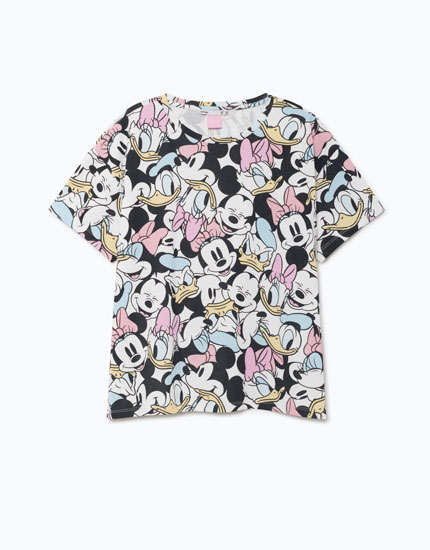 CAMISETA ESTAMPADO DISNEY