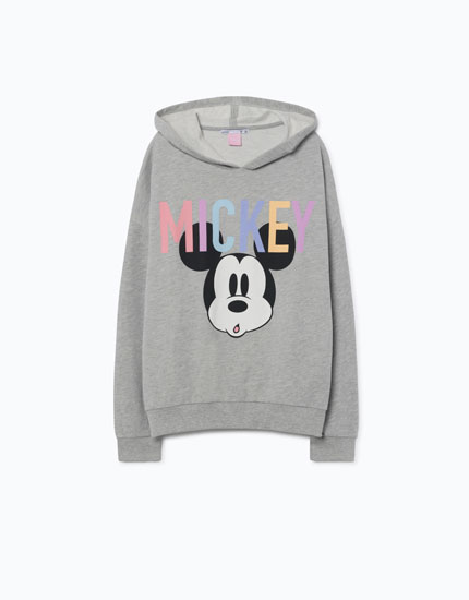 MICKEY MOUSE PRINT SWEATSHIRT