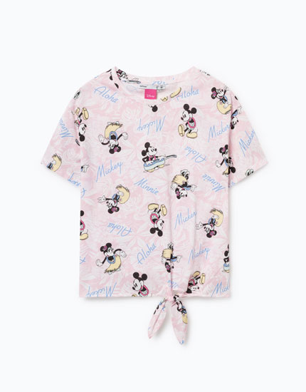 MINNIE MOUSE PRINT T-SHIRT