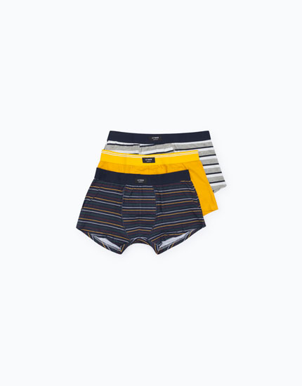 PACK OF STRIPED BOXERS