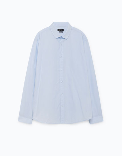 SHIRT WITH ELBOW PATCHES