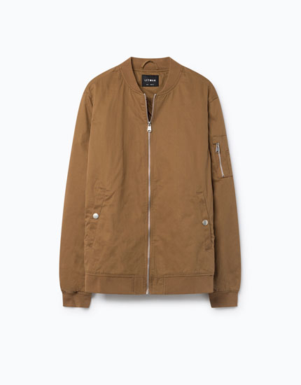 ESSENTIALS BOMBER JACKET