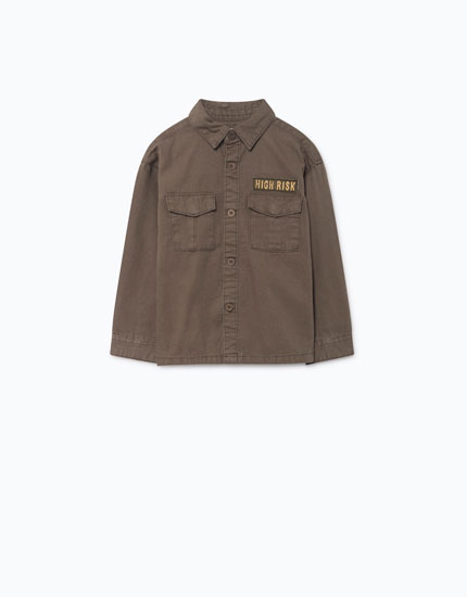 PATCH OVERSHIRT