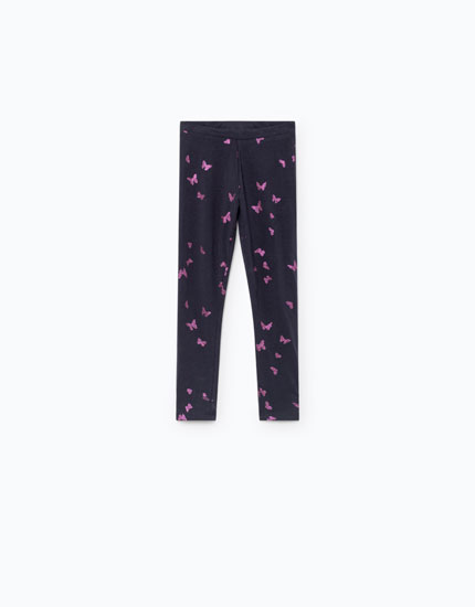 GLITTER PRINT LEGGINGS