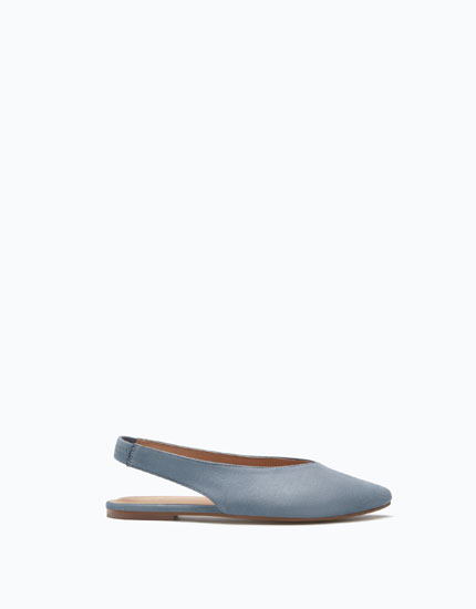 FLAT SLINGBACK SHOES