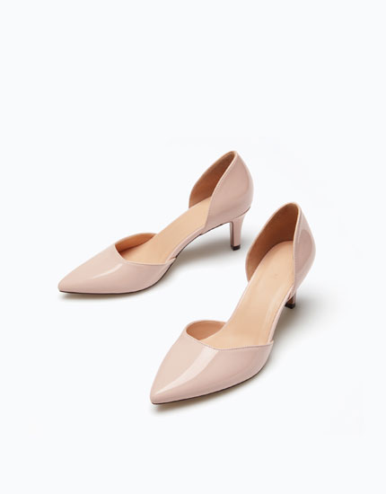 MID HEEL D'ORSAY SHOES