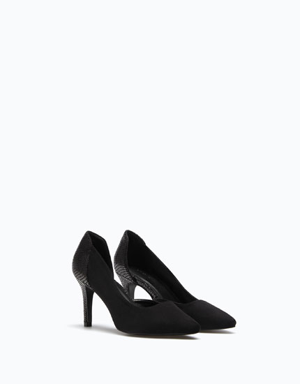 ASYMMETRIC HIGH HEEL SHOES