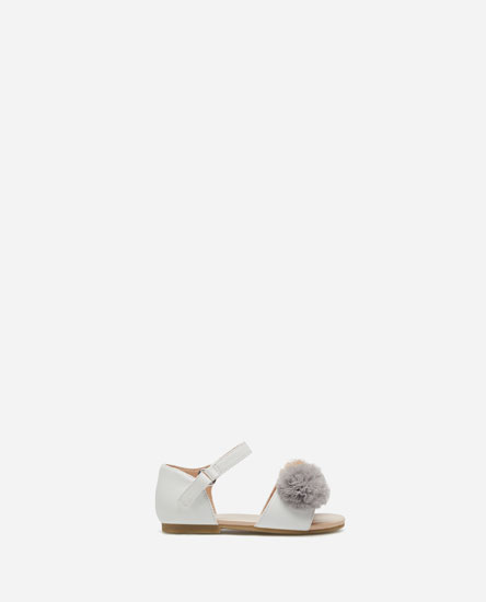 POMPOM D'ORSAY SHOES
