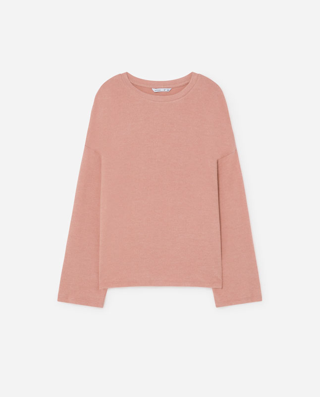 d080a4c0ba4c93 Lefties - sudadera color - rosa pastel - 01112308-I2019