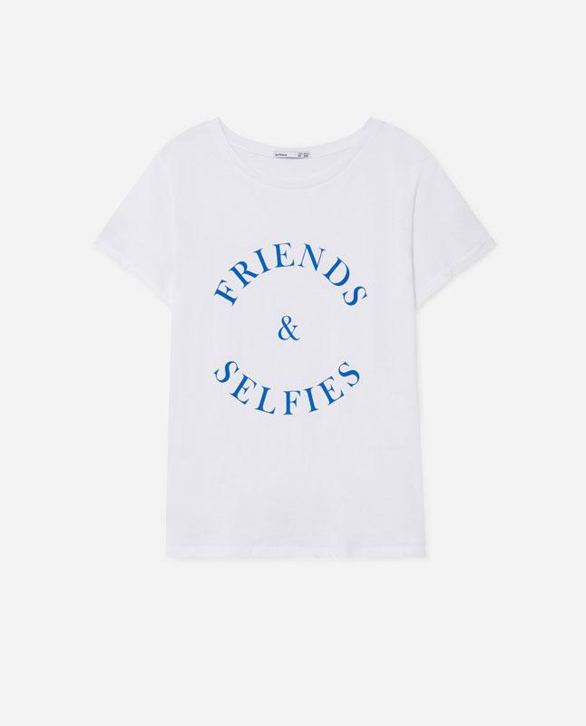 9a17ba5fe Lefties - camiseta print posicional - blanco/blanco - 05013302-I2019