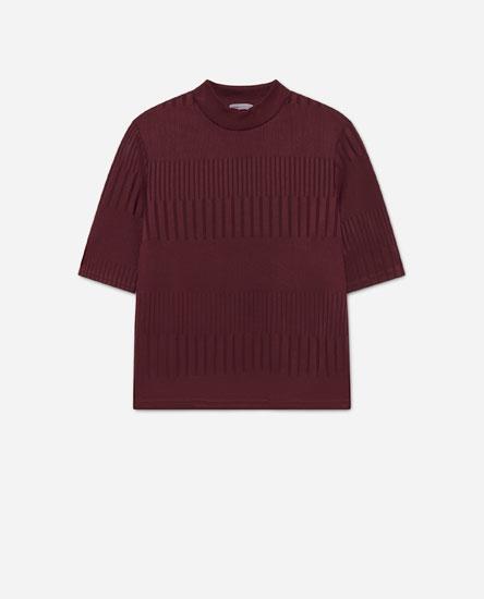 Camiseta cuello perkins
