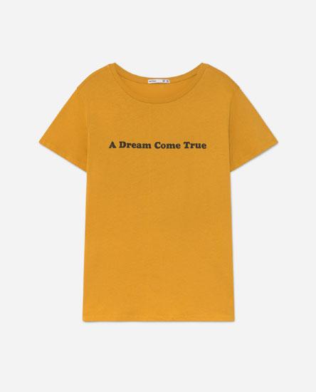Camiseta print posicional