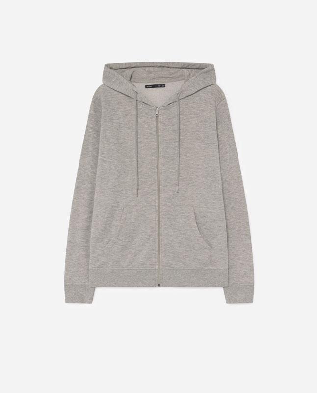 00eacad19 Lefties - chaqueta felpa - gris vigoré - 05053318-I2019