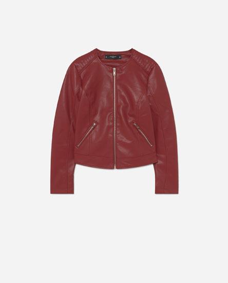 diseño de calidad ce4e3 be6af Abrigos y chaquetas - COLECCIÓN - WOMEN - | Lefties España