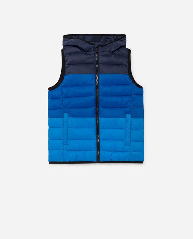 6afae27cce0 Lefties - chaleco acolchado color - azul - 01832711-I2019