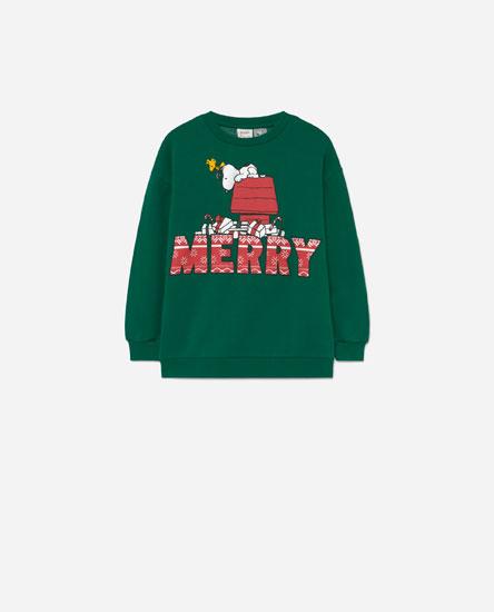 Sudadera Snoopy Navidad
