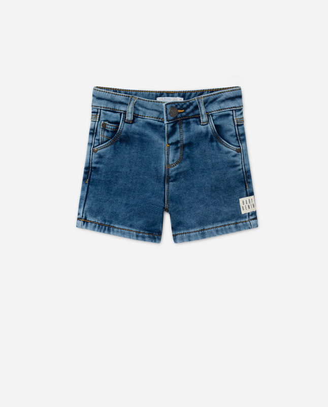 087b66c5 Lefties - denim bermuda shorts - medium blue - 05148800-I2019