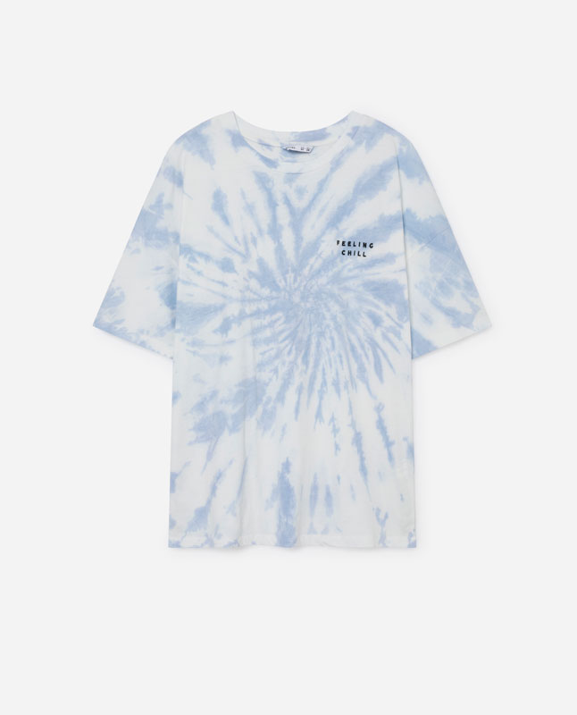 5364fbe5c TIE-DYE T-SHIRT - T-shirts and tops - COLLECTION - WOMEN - | Lefties ...