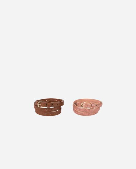 Cinturones y gafas - ACCESORIOS - WOMEN -  039f15011d65
