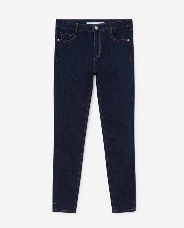 bf7beb9b1d1 Lefties - джинсы суперскинни - морской синий - 01404303-V2019