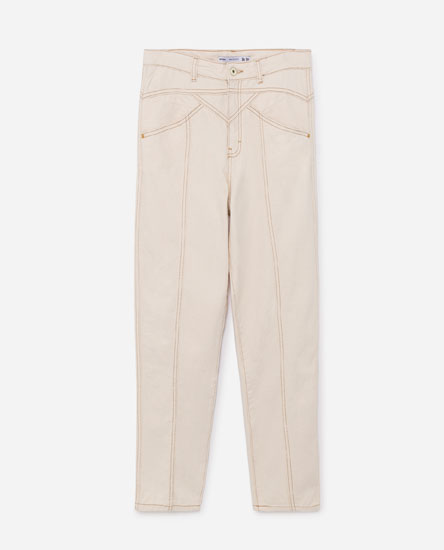 JEANS WITH YOKE