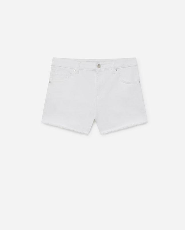 2a28617dd0 Lefties - short denim color - blanco - 01424301-V2019