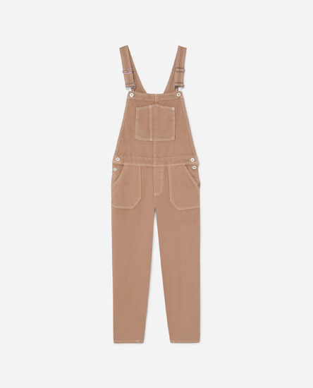 DUNGAREES WITH SEAM DETAILS