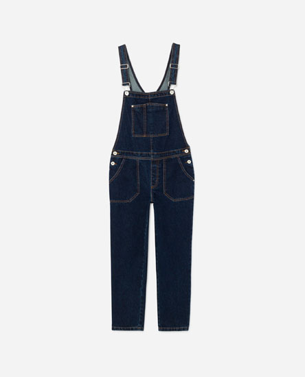 LONG DUNGAREES WITH POCKETS
