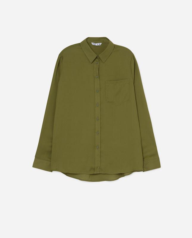 Lefties - camisa estampada - kaki - 01904306-V2019 8a1bef40e205