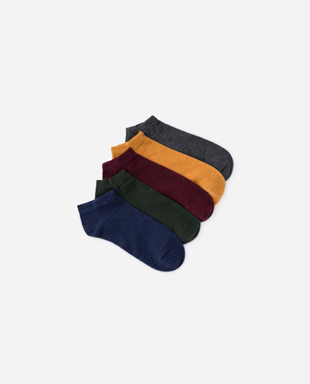 PACK OF COLOURFUL SOCKS
