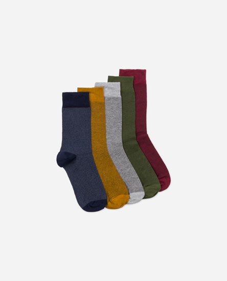 PACK CALCETINES COLOR