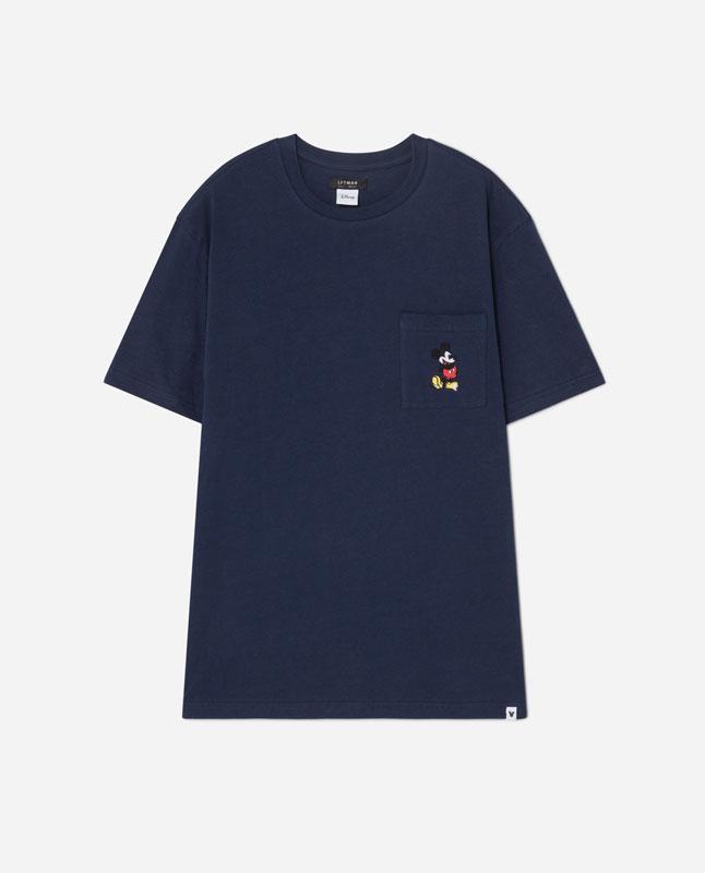 Azulindigo Lefties Camiseta 05017511 Mickey Bolsillo V2019 zqpUVSMG