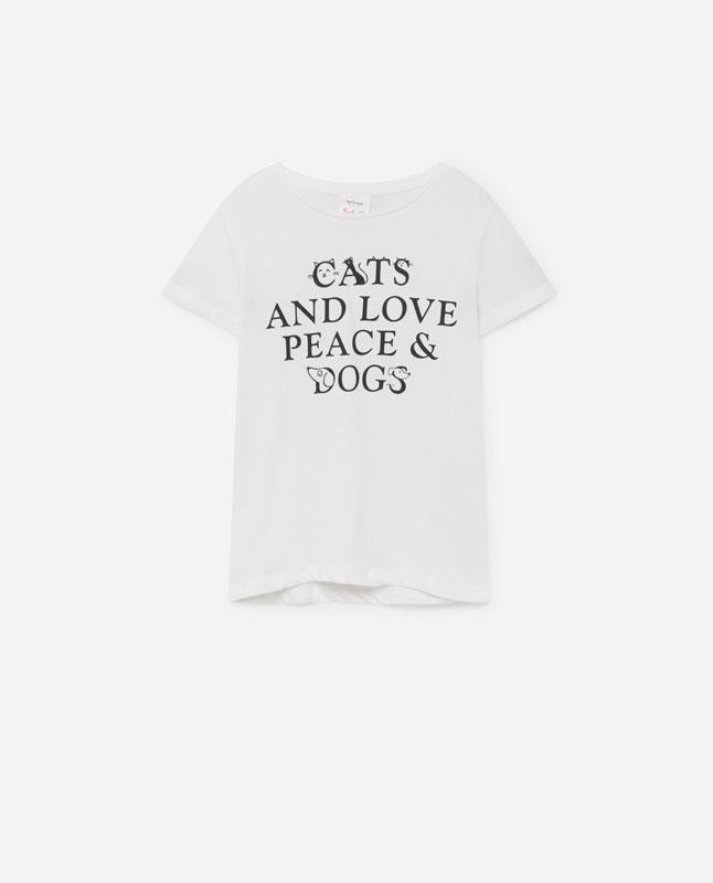 50c134ae5 Lefties - camiseta texto - blanco roto - 01012126-V2019