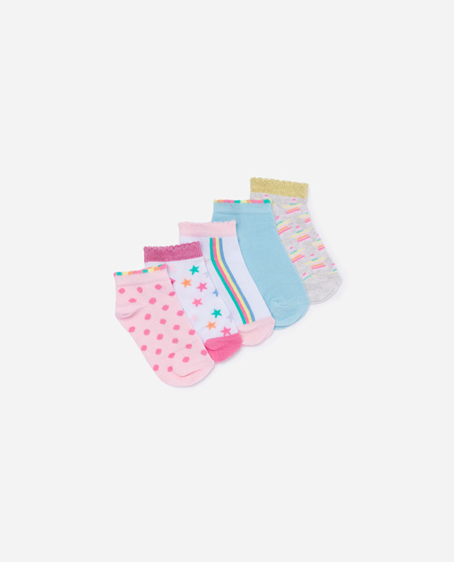 a03b9c9374c36 Lefties - pack of rainbow trainer socks - others - 05263112-V2019