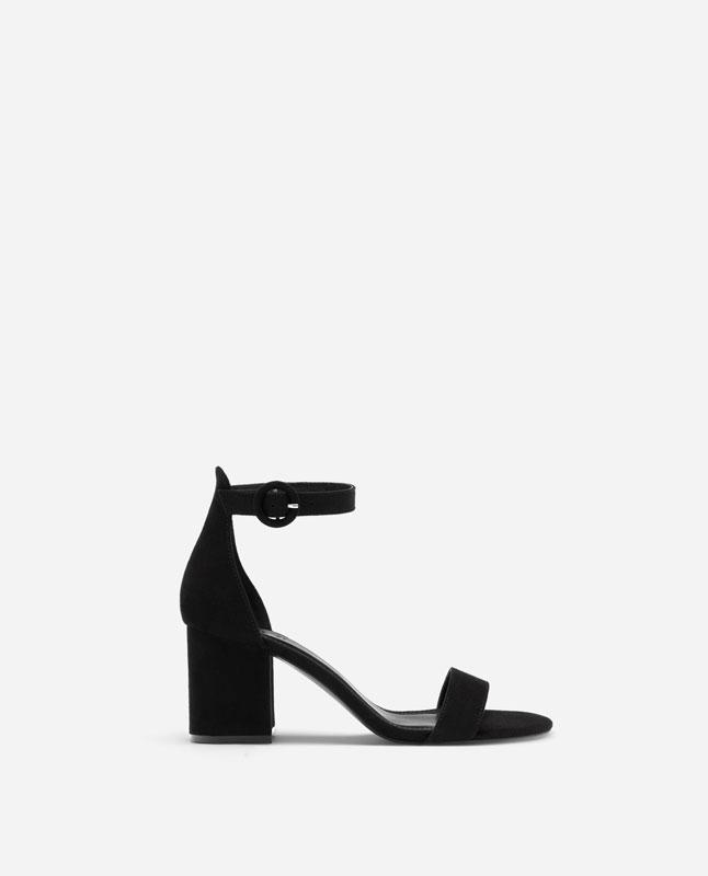 e71f092008 Lefties - sandália de tacão - super price - preto - 13210091-V2019
