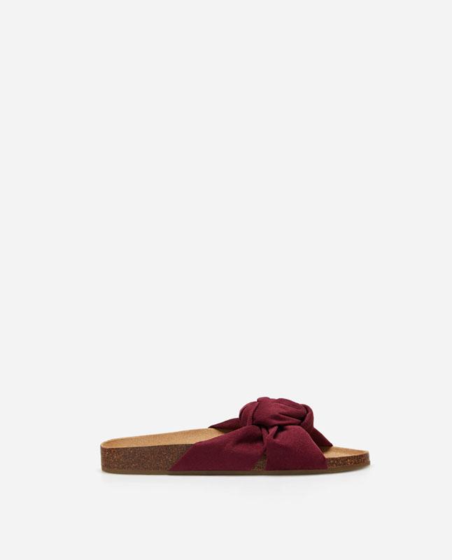 410afe6293e30 Lefties - sandalia corcho nudo - burdeos - 13418091-V2019