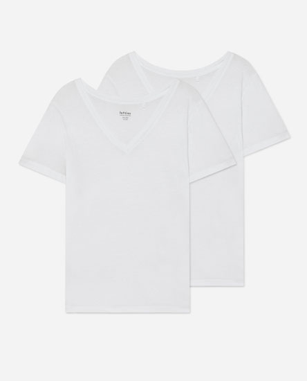 Pack of 2 V-neck T-shirts
