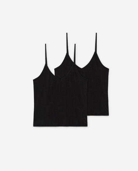Pack of 2 vest tops