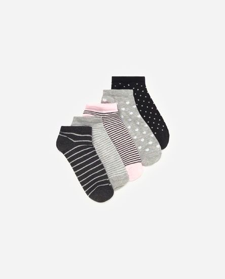 Pack of striped socks