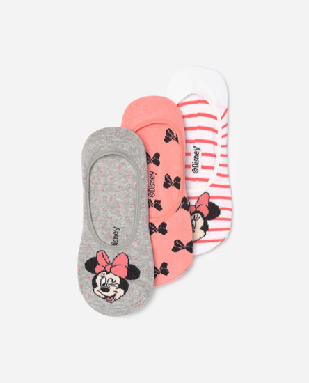 3-Pack of Minnie Mouse socks