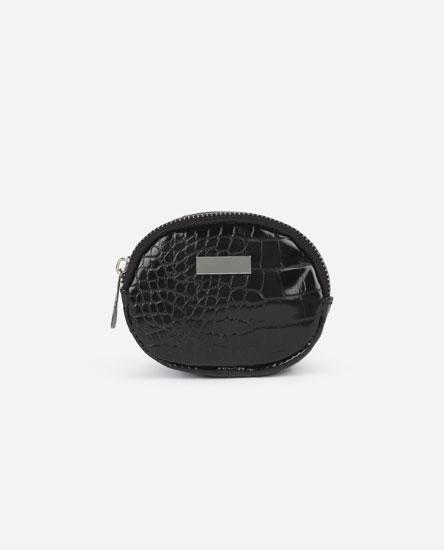 Oval purse