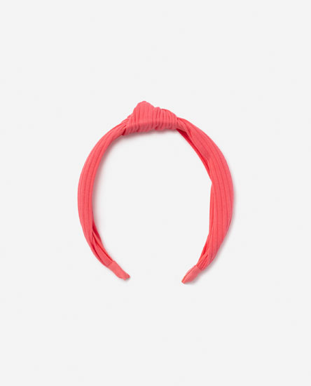 Headband with knot detail