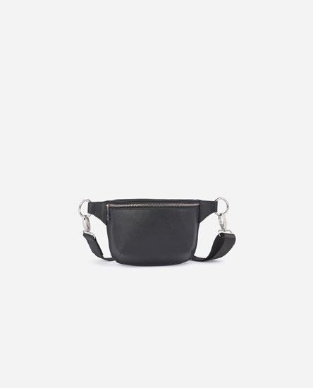 Belt bag with eyelets