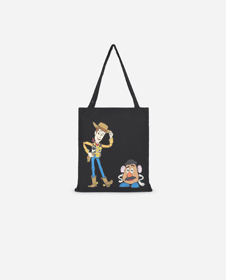 Toy Story Woody and Mr Potato Head tote bag