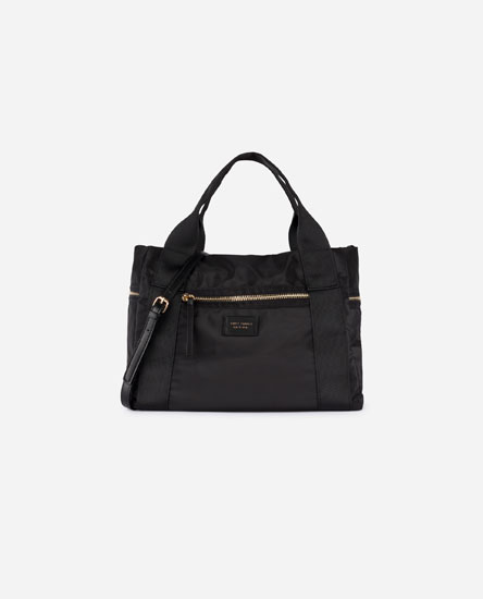 Tote bag with zips
