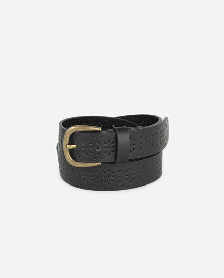 Basic die-cut belt