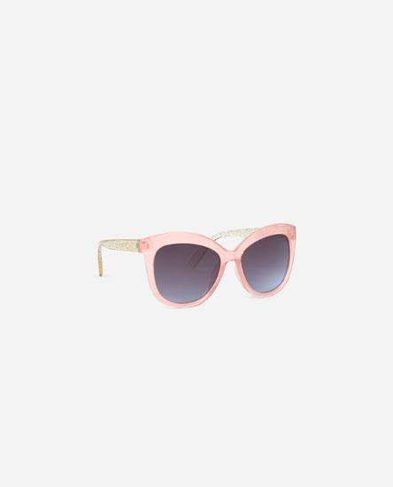 Sparkly square sunglasses