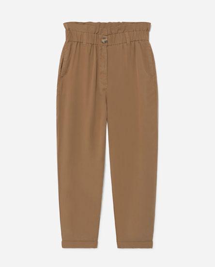 Pantalón tiro alto Lyocell