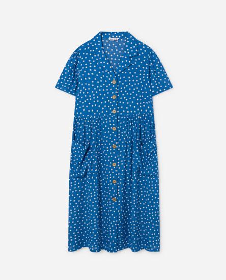 Button-up midi dress